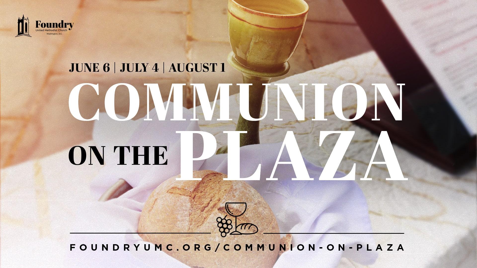 Communion on the Plaza