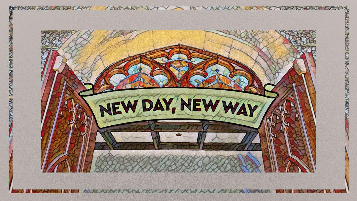 "Sunday Worship: Rev. Ginger Gaines Cirelli, ""A New Way…"""